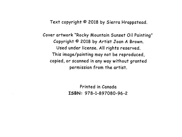 sierra hrappstead book cover ©copyright img