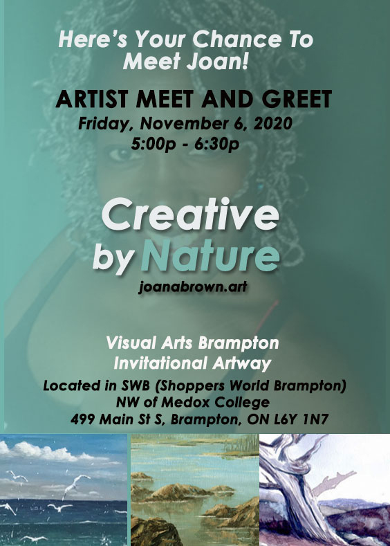 Artist Meet and Greet: Joan A Brown Creative By Nature img