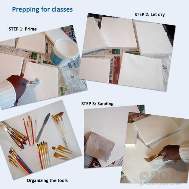 How to Prime Your Painting Canvas Step by Step img